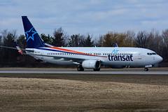 OK-TSO (Air Transat - Smartwings) (Steelhead 2010) Tags: airtransat smartwings travelservice boeing b737 b737800 yhm okreg oktso