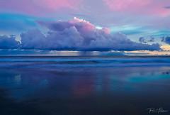 Dream of sunset (Plamen Troshev) Tags: dream sunrise reflection new explore nature sky sea ocean santa lucia wave