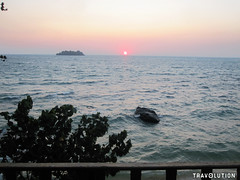 Sunset at Sok San Beach, Koh Rong Island (Travolution360) Tags: cambodia koh rong island sunset sok san beach water sand paradise holiday palm trees waves travel
