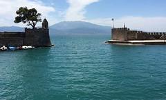 the Nafpaktos harbour IMG_1718 (mygreecetravelblog) Tags: greece westerngreece mainlandgreece greecemainland nafpaktos naupactus town outdoor landscape harbor harbour port water bay