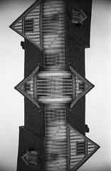 (von8itchfisk) Tags: doubleexposure filmisnotdead film ishootfilm blackandwhite analog analogphotography architecture geometric fomapan 35mm olympus om10 incamera noedit lavenham suffolk eastanglia selfdeveloped