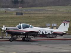 G-EFJD Bolkow B209 Private (Aircaft @ Gloucestershire Airport By James) Tags: gloucestershire airport gefjd bolkow b209 private egbj james lloyds