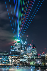 City Laser Lights, London (SNeequaye) Tags: london england uk unitedkingdom nikon nikond750 tamron tamron2470mm 2470mm tamron70200mm 70200mm sigma sigma35mm nikon1635mm riverthames towerbridge theshard water still slowexposure slowshutter eastlondon southlondon northlondon westlondon 122leadenhallstreet cheesegrater herontower tower42 gherkin 20fenchurchstreet 22bishopsgate 100bishopsgate leendgraduatedfilter leefilter leebigstopper neutraldensityfilter theskygarden view thecity thesquaremile skyline bigben londoneye palaceofwestminster londonbridge southwarkbridge millenniumbridge theview waterloobridge architecture building city sky cloud moody samsung samsungmobile