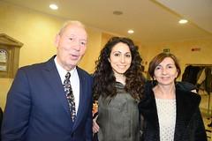 Franco Lorenzetti con Giorgia Marchini e mamma
