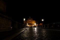 Castel Sant'Angelo (Yannic Meier) Tags: rome rom engelsburg engelsbrücke pontesantangelo ponsaelius longexposure langzeitbelichtung