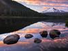 Adventures on Mt Hood (Action Photo Tours) Tags: hood mounthood mthood oregon reflection triliumlake clouds sunset