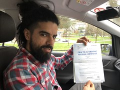 Massive congratulations to Francisco Perez passing his driving test with only two minor faults.  www.leosdrivingschool.com