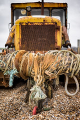 Head on [Explored] (ShrubMonkey (Julian Heritage)) Tags: trackmarshall tracked discarded machine decay rusty beach shingle hastings eastsussex dozer bulldozer stade corroded neglected forsaken