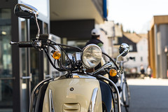 20180406-_DSC6131 (Fabian Tomczyk) Tags: bike details standing parking parkinglot detailed lights cables wires edited lightroom adobe sony sonyalpha6000 sonya6000 alpha6000 a6000 alphadicted alphacollective minolta rokkor manualfocus city streetphotography
