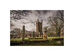 Ludgvan Church (silver/halide) Tags: church ludgvan stpauls granite gravestone graveyard cemetery norman cornwall johnbaker poldark