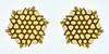 Tessellation T-est 2 (Marjan Smeijsters) (De Rode Olifant) Tags: tessellationtest2 tessellation origami paper paperfolding marjansmeijsters hexagon triangle pattern