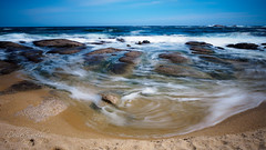 Whip and Swirl (Deibertography) Tags: southkorea beach landscape nature ocean outdoors rocks sand sea seascape shore sky tide waves weather