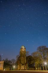 Stars (Abdalrahman Islambouli) Tags: sky stars blue tower trees sony lights long outside flickr night summer city cityscape