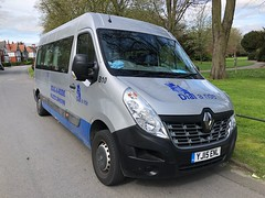 New Bus 10 (BiggestWoo) Tags: van transport dialaride cleethorpes grimsby ride dial welfare minibus master renault