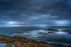 Steel Blue (Peeblespair) Tags: peeblespairphotography raelawsonstudios dunbar scotland northsea longexposure le blue