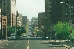 Amsterdam Avenue, NYC (J_Piks) Tags: usa street road highway nyc newyork amsterdamavenue 300views