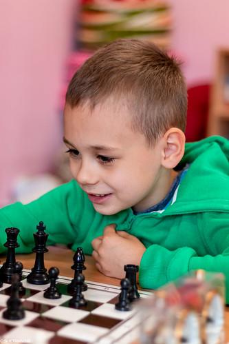 VIII Turniej Szachowy o Mistrzostwo Przedszkola Europejska Akademia Dziecka-42