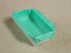 Rectangular box with handles (Mélisande*) Tags: mélisande origami box rectangular