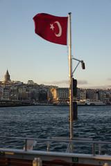ILCE-7170 (Sepistö) Tags: ferry ship bosporus strait seaofmarmara flag istanbul turkey sea tr