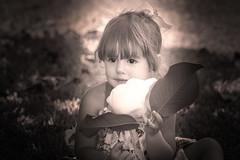 Pretty Flowers (ClintHeeeerod) Tags: child children kid toddler baby portrait sepia blackwhite nikon sigma70200mmf28 sigma d750