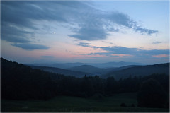Beskidy (Piotr Skiba) Tags: beskidy beskidsądecki beskid poland pl wierchomla piotrskiba evening night sky landscape mountains summer