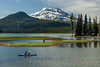 Sparks Lake, Oregon (Ken Barber) Tags: oregoncascades mountains snowcapped southsister sparkslake scenic atkeson rayatkeson water snow kayak outdoors travel oregon atkesonmemorial volcano centraloregon