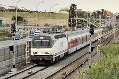 252.061 + TALGO III RD TEE (Andreu Anguera) Tags: ferrocarril tren especial talgoiiirdtee 262061 barcelona portbou maresme catalunya andreuanguera