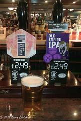 June 24th, 2018 Today's Tipple - Fisher's Brew Blonde Ale (karenblakeman) Tags: baroncadogan pub caversham uk beer ale ipa fishersbrewco blondeale marstons oldempireipa june 2018 2018pad reading berkshire