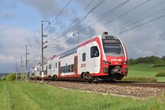 CFL KISS 2316, Wecker (moritzspotter) Tags: cfl cfl2316 stadlerkiss kiss rb regiobahn chemindeferluxembourgeois doppelstockzug luxembourg wecker
