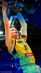 WALLPAPER-FIBAWC-PHONEART2-GADDEFORS (sbbfbildarkiv) Tags: herrar herrlandslag herr vmkval vm fiba