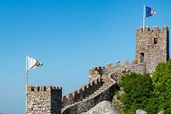 Moorish Castle Wall (sharon.verkuilen) Tags: portugal sintra sonya7rii