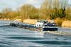 Water -5- (Jan 1147) Tags: water boot schip boat bomen trees schoonaarde belgium