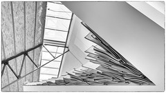 Walls, Ceiling and Decoration (devos.ch312) Tags: architecture decoration porcelain porcelainstore walls ceiling angle corner cmine genk belgium formercoolminesite monochrome blackandwhite sony a7rii a7rm2 ilce7rm2 fe35mmf28 lines shapes christinedevos