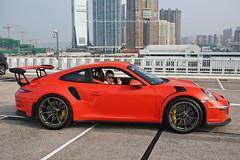 Porsche, 991 GT3RS, Tsim Sha Tsui, Hong Kong (Daryl Chapman Photography) Tags: pl28 porsche german 911 991 gt3rs hongkong china sar tst tsimshatsui auto autos automobile automoibles car cars carspotting carphotography 5d mkiii canon sigma 35mm f14 art