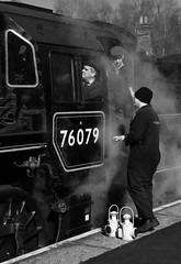 Train crew. (IMG_6537) (Robert G Henderson (Romari).) Tags: nymr grosmont march 2018 railway steam train locomotive transport england uk