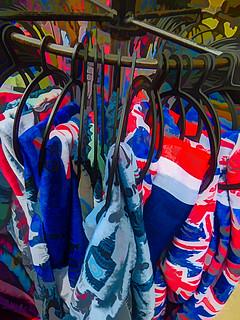 London on a Hanger