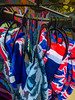 London on a Hanger (Steve Taylor (Photography)) Tags: clothing sweatshirt bigben unionjack top hanger rack art digital fashion black blue red white yellow cloth plastic uk gb england greatbritain unitedkingdom london abstract curve design impressionist symbol flag coathanger