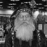 A great beard on the wizard @ #IndianaComicCon in Indy. thumbnail