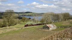 George B (Lewis Maddox) Tags: bala lake railway steam trains heritage wales spring sunny green water george b quarry hunslet narrow gauge