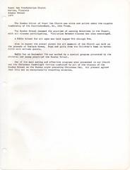 Royal Oak Presbyterian Church History 1975 Page 9 (mwlinford) Tags: royal oak presbyterian church marion virginia smythcounty