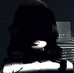 """Stranger"" (L1netty) Tags: bioshockinfinite bioshock irrationalgames 2k pc game gaming pcgaming videogame reshade screenshot 4k character elizabeth elizabethcomstock portrait girl people closeup lips color indoor shadow room"