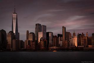 Sunset on NYC