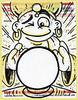 Fortune Teller (Question Josh? - SB/DSK) Tags: stickers sticker slaps fortune magic gypsy label228 markers josh