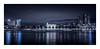 Rotterdam - Willemskade II (Passie13(Ines van Megen-Thijssen)) Tags: rotterdam willemskade city cityscape night nightscape cinematic skyline blue netherlands canon sigma35mmart inesvanmegen inesvanmegenthijssen