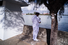 * (Sakulchai Sikitikul) Tags: street snap streetphotography a7s voigtlander 28mm thailand songkhla seascape sea