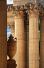 Classical Lines (studioferullo) Tags: architecture art beauty bright building colorful colourful colors colours contrast dark design detail edge light outdoor outside perspective pattern pretty scene serene tranquil shadow sky study sunlight sunshine street texture tone weathered world sanfrancisco california column urn classical lines