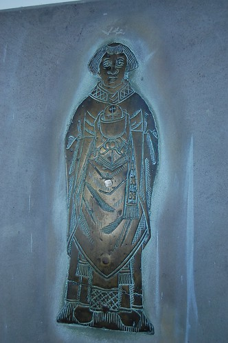 Brookland, St Augustines church brass