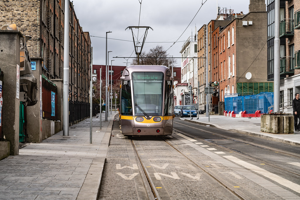 DOMINICK STREET DUBLIN [TRAMS AND TRACKS]-137841
