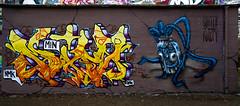 HH-Graffiti 3569 (cmdpirx) Tags: hamburg germany graffiti spray can street art hiphop reclaim your city aerosol paint colour mural piece throwup bombing painting fatcap style character chari farbe spraydose crew kru artist outline wallporn train benching panel wholecar