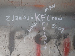 Wingman KFC (Railroad Rat) Tags: freight train riding hopping graffiti monikers art railroad dumpster diving camping reclaim traveling wander america united states union pacific culture high desert snow feather river route overland